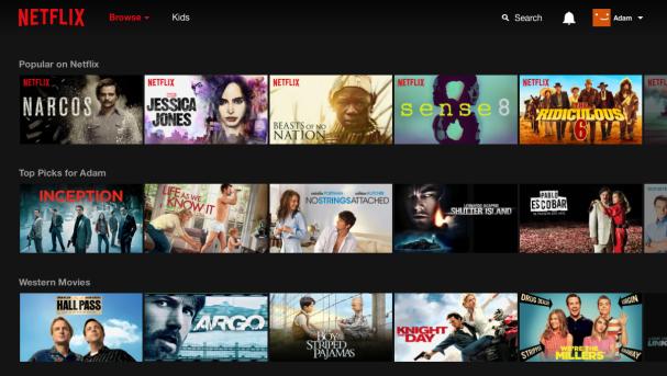 Library Netflix