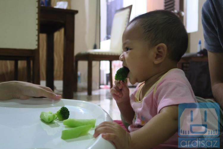 Brokoli pun dimakan
