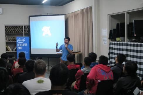 Berbagi dengan temen2 Intel Developer di Bali